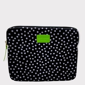kate spade tablet case polka dots w green accents